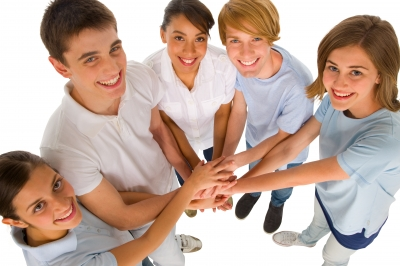 Surrounding yourself with supportive community reduces anxiety. Image courtesy of Ambro / FreeDigitalPhotos.net