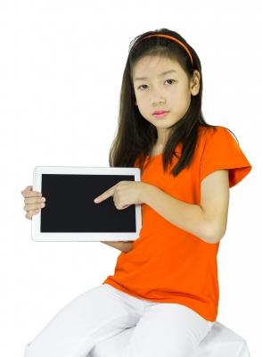 One of the things that will make this a better school year is limiting time on devices. Photo credit: Stoonn and freedigitalphotos.net