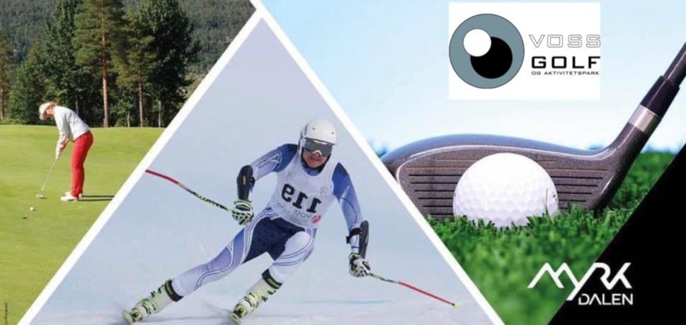 Voss Golfklubb inviterer til uoffisielt Norgesmesterskap i Ski & Golf på Voss 24 – 26 Mai 2019