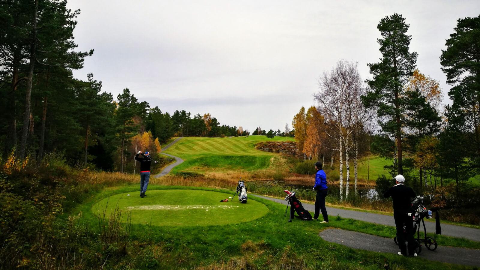 Hull 9, Kragerø Golfklubb