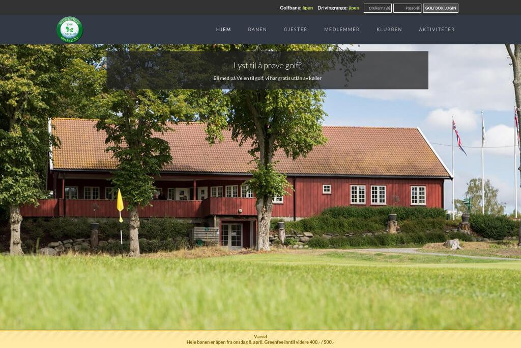 Hjemmesiden til Moss og Rygge Golfklubb