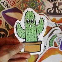 cactus sticker 1