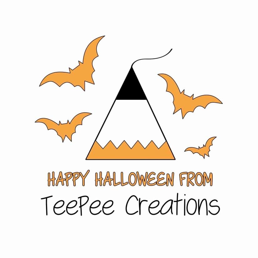 teepee logo halloween facebook