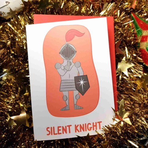 silent knight card outer
