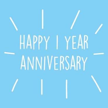 1 year anniversary rgb