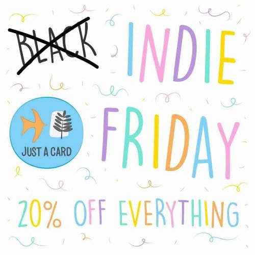 indie friday post