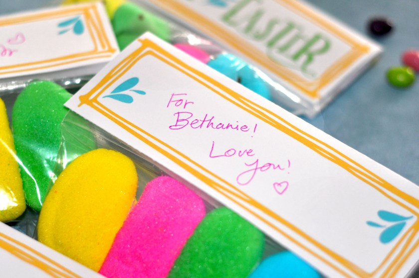 Free Treat Topper, Free Easter Printable