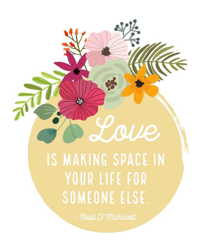 General Conferene Printable-Love is Making Space