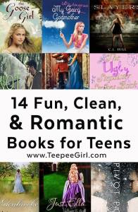 Fun, Clean, and Romantic Books for Teens and Their Moms (www.TeepeeGirl.com)
