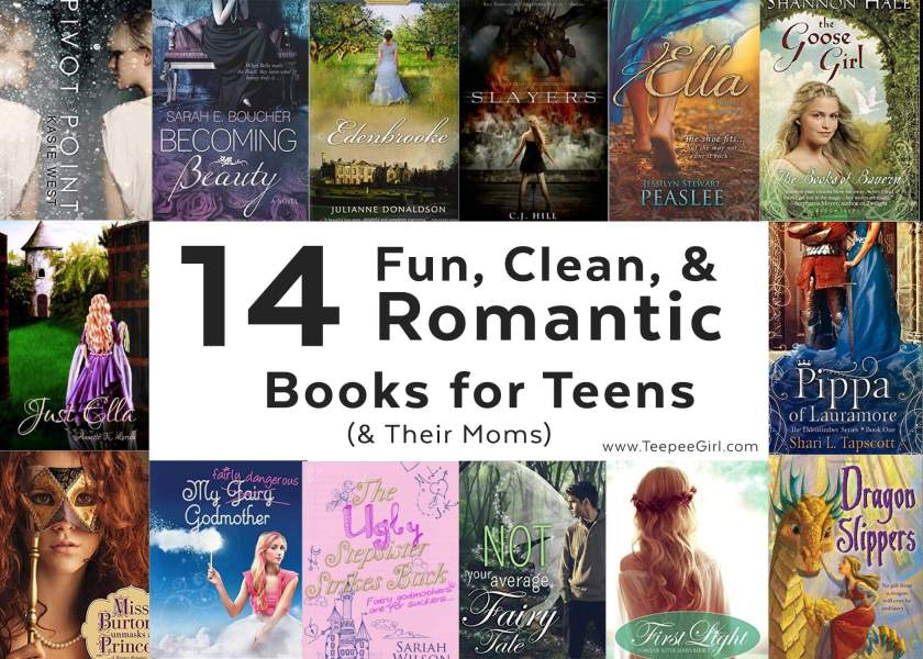 14 Fun, Clean, and Romantic Books for Teens and Their Moms (www.TeepeeGirl.com)