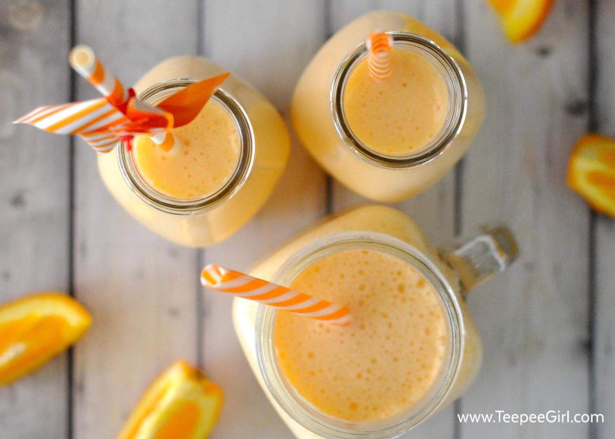 This easy & delicious beverage only has 3 simple ingredients! Kids and adults love this fun beverage. www.TeepeeGirl.com