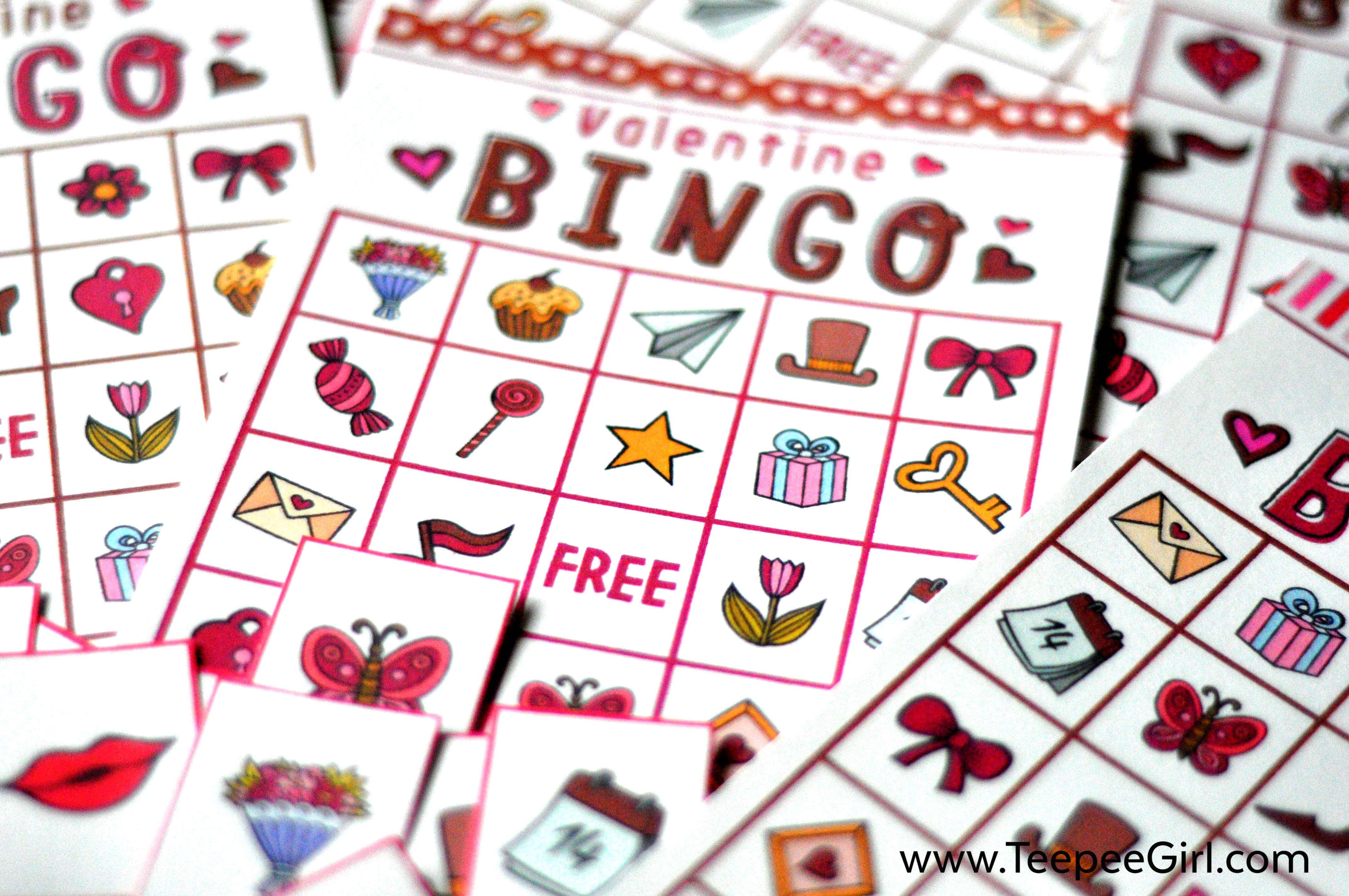 Free Valentines Day Bingo