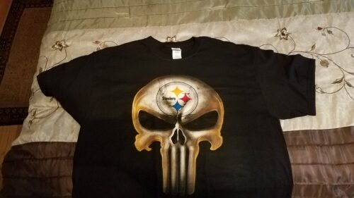 Pittsburgh Steelers The Punisher Mashup Football Shirts photo review