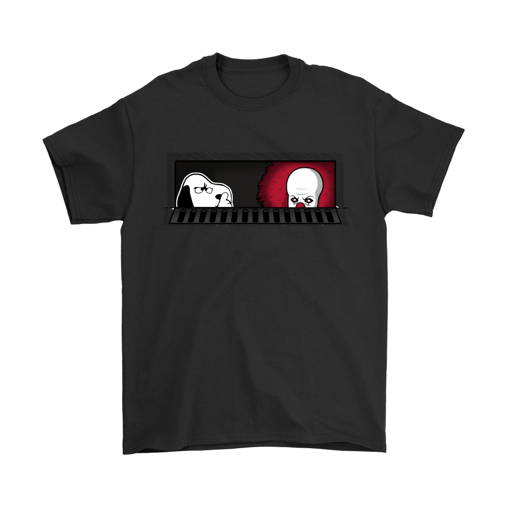 1990 Pennywise And Snoopy Sewermates! IT Stephen King Shirts 1