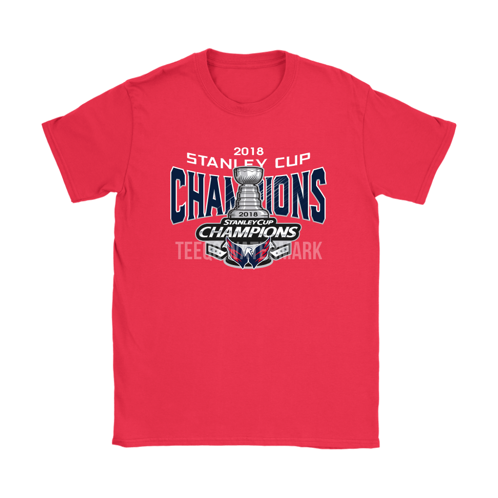 2018 Stanley Cup Champions NHL Washington Capitals Shirts 2
