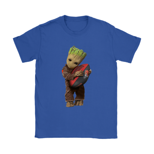 3D Groot I Love Cleveland Browns NFL Football Shirts 12