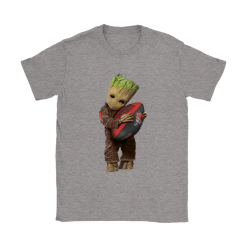 3D Groot I Love Cleveland Browns NFL Football Shirts 26