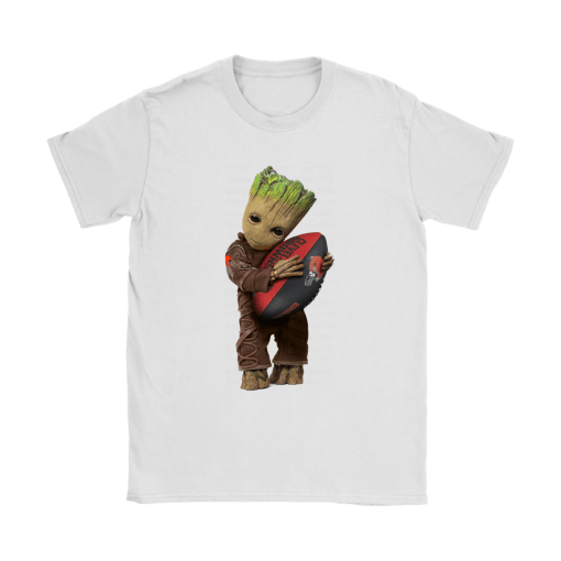 3D Groot I Love Cleveland Browns NFL Football Shirts 14