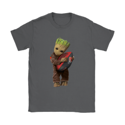 3D Groot I Love Cleveland Browns NFL Football Shirts 22