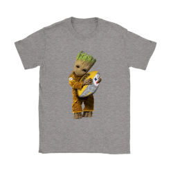 3D Groot I Love Pittsburgh Steelers NFL Football Shirts 26