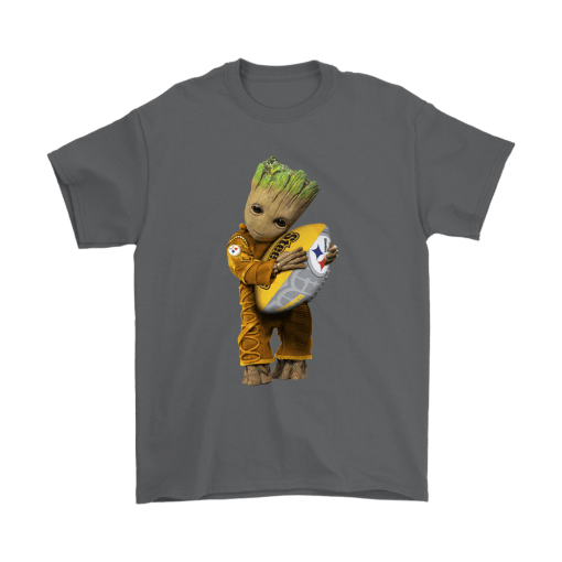 3D Groot I Love Pittsburgh Steelers NFL Football Shirts 2