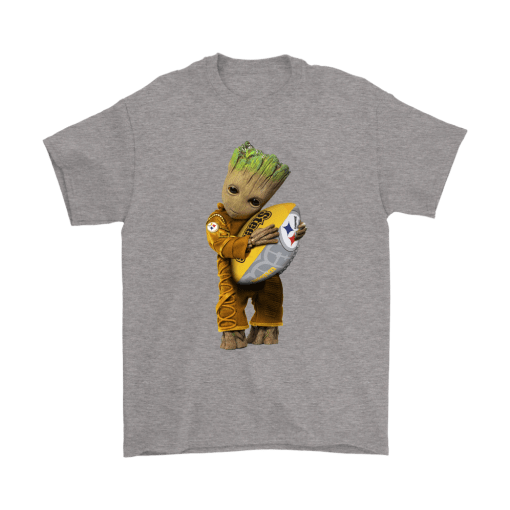 3D Groot I Love Pittsburgh Steelers NFL Football Shirts 6