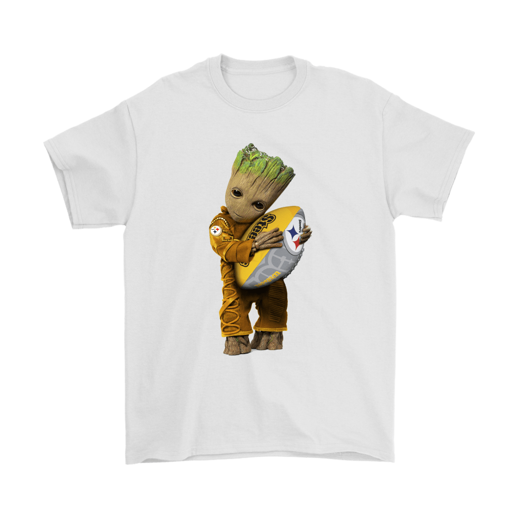 info for eaad0 eaeb2 3D Groot I Love Pittsburgh Steelers NFL Football Shirts