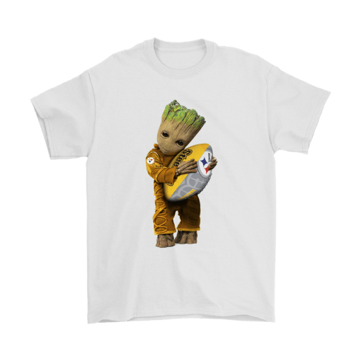 3D Groot I Love Pittsburgh Steelers NFL Football Shirts 7
