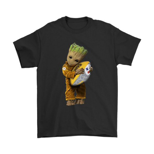 3D Groot I Love Pittsburgh Steelers NFL Football Shirts 1