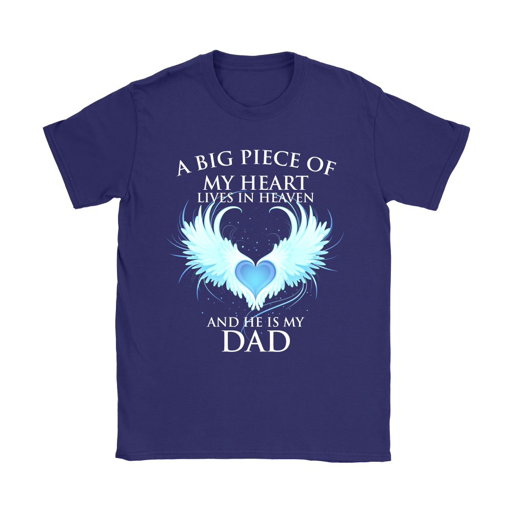 A Big Piece Of My Heart Lives In Heaven Shirts 10