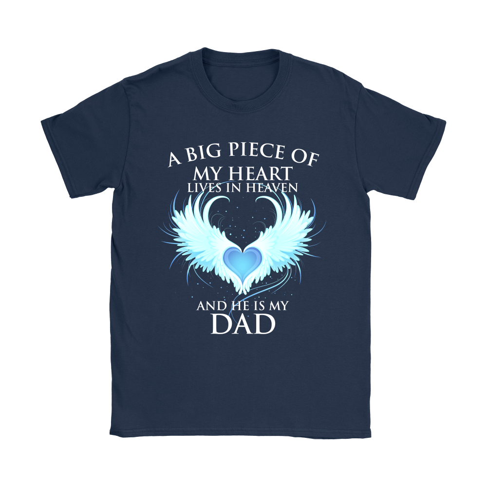 A Big Piece Of My Heart Lives In Heaven Shirts 9
