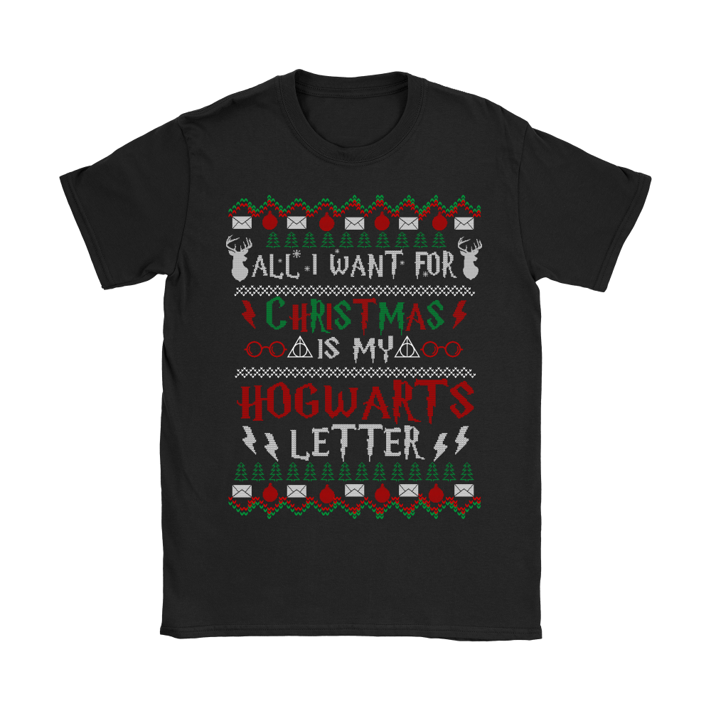 All I Want For Christmas Is My Hogwarts Letter Harry Potter Shirts 6