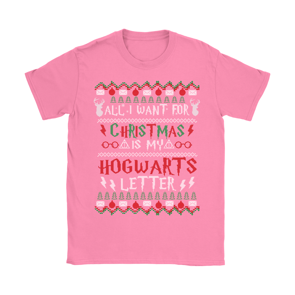 All I Want For Christmas Is My Hogwarts Letter Harry Potter Shirts 7