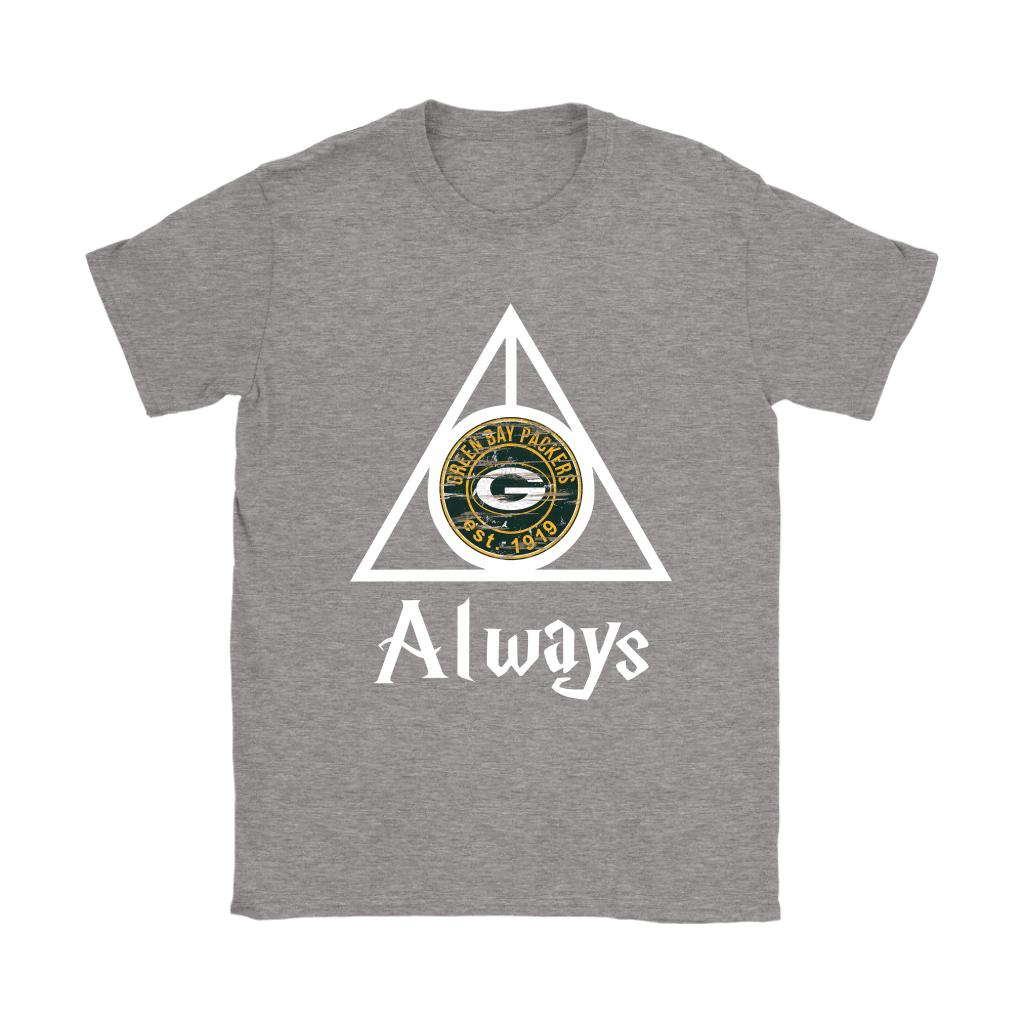 Always Love The Green Bay Packers x Harry Potter Mashup Shirts 13