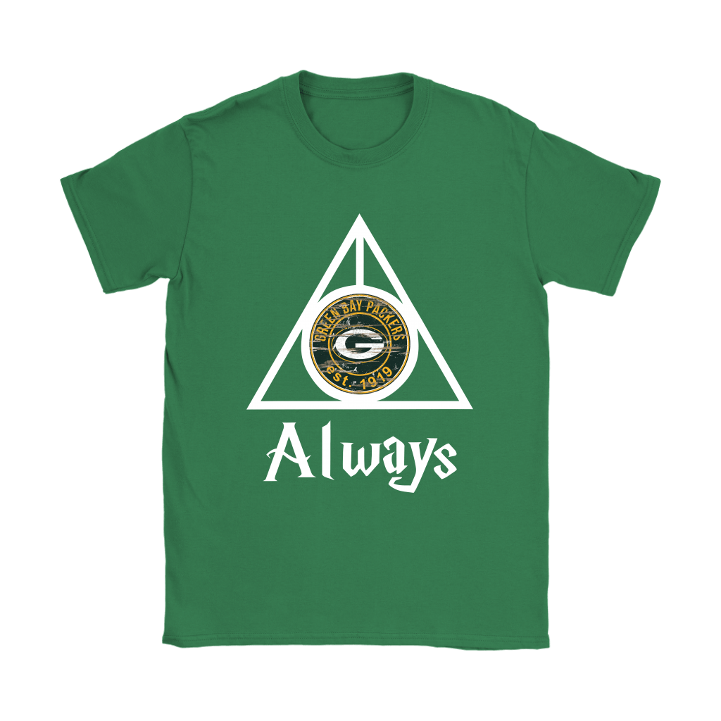 Always Love The Green Bay Packers x Harry Potter Mashup Shirts 14