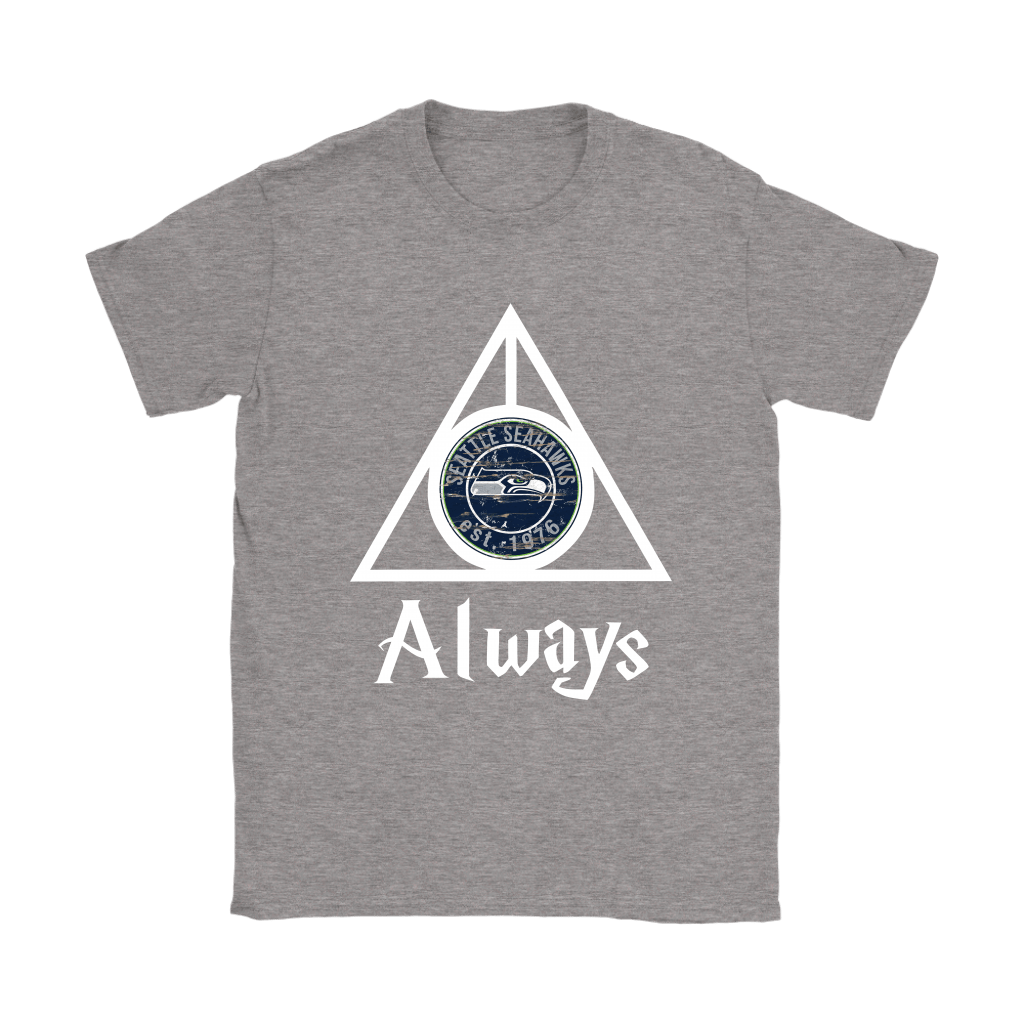 Always Love The Seattle Seahawks x Harry Potter Mashup Shirts 12