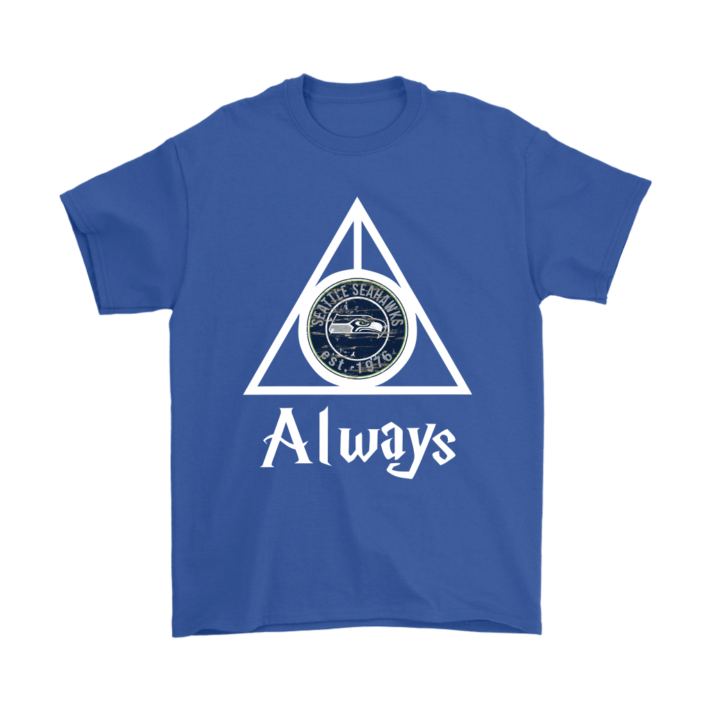 Always Love The Seattle Seahawks x Harry Potter Mashup Shirts 5