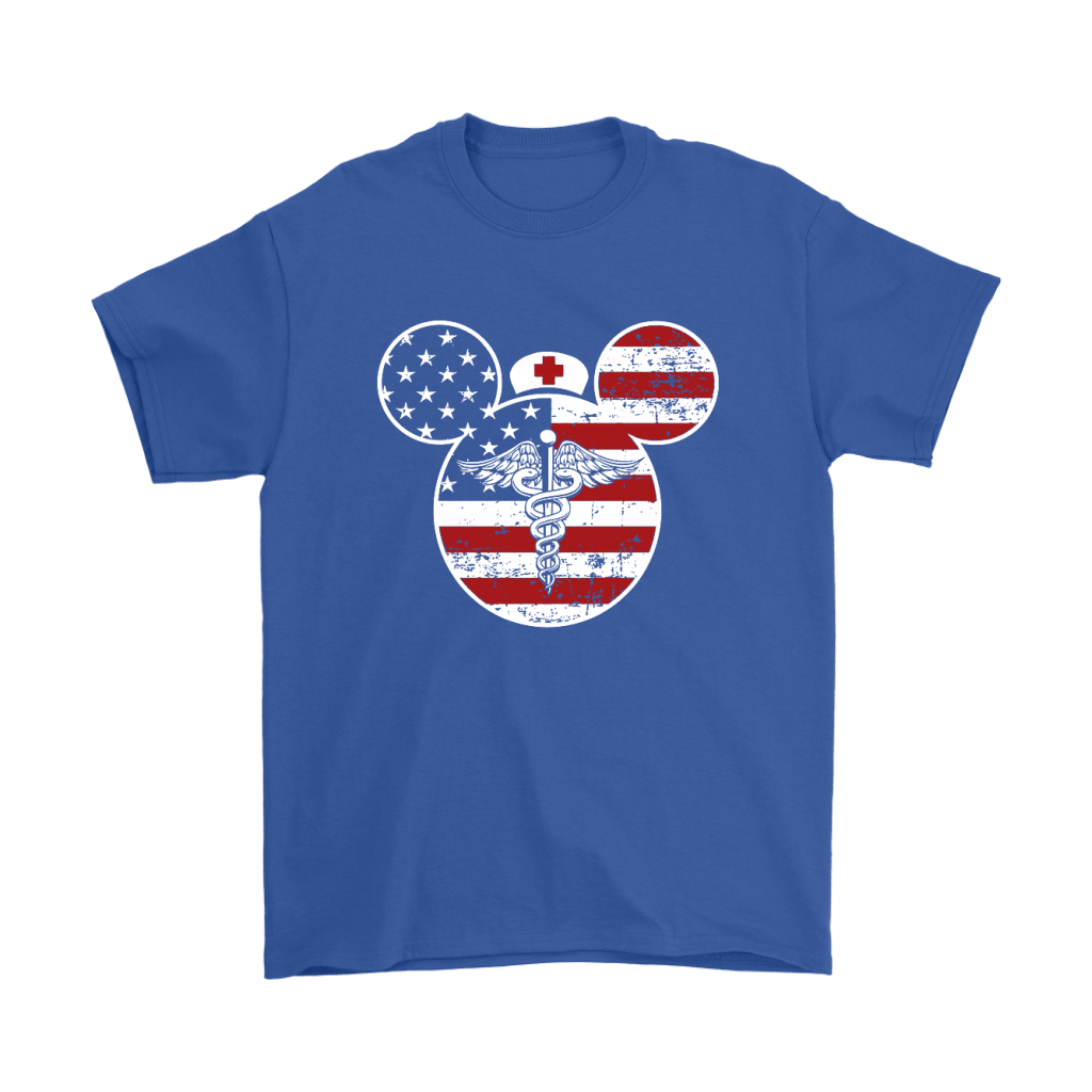 America Mickey Nurse Medical Disney Mickey Mouse Shirts 5
