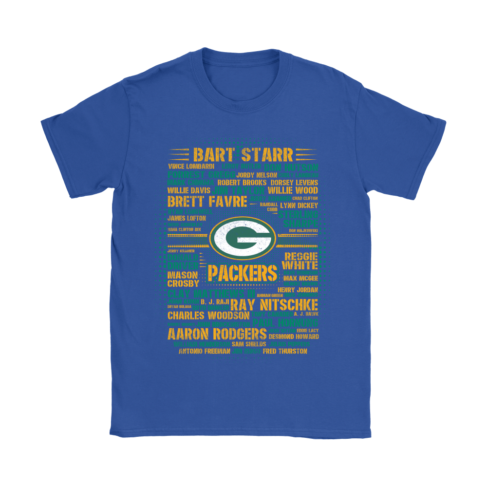 American Football All Players Team Green Bay Packers Shirts 10