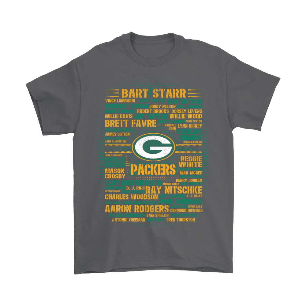 American Football All Players Team Green Bay Packers Shirts 2