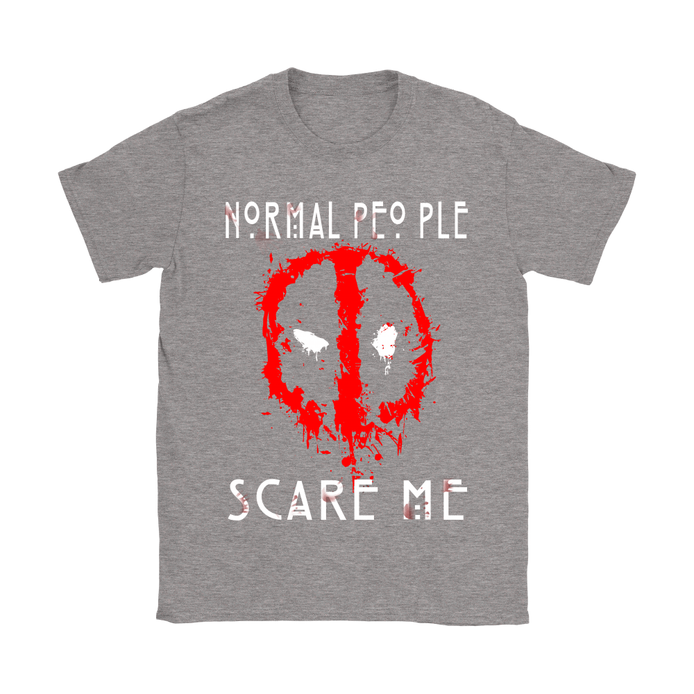 American Horror Story Normal People Scare Me Autism Deadpool Shirts 12