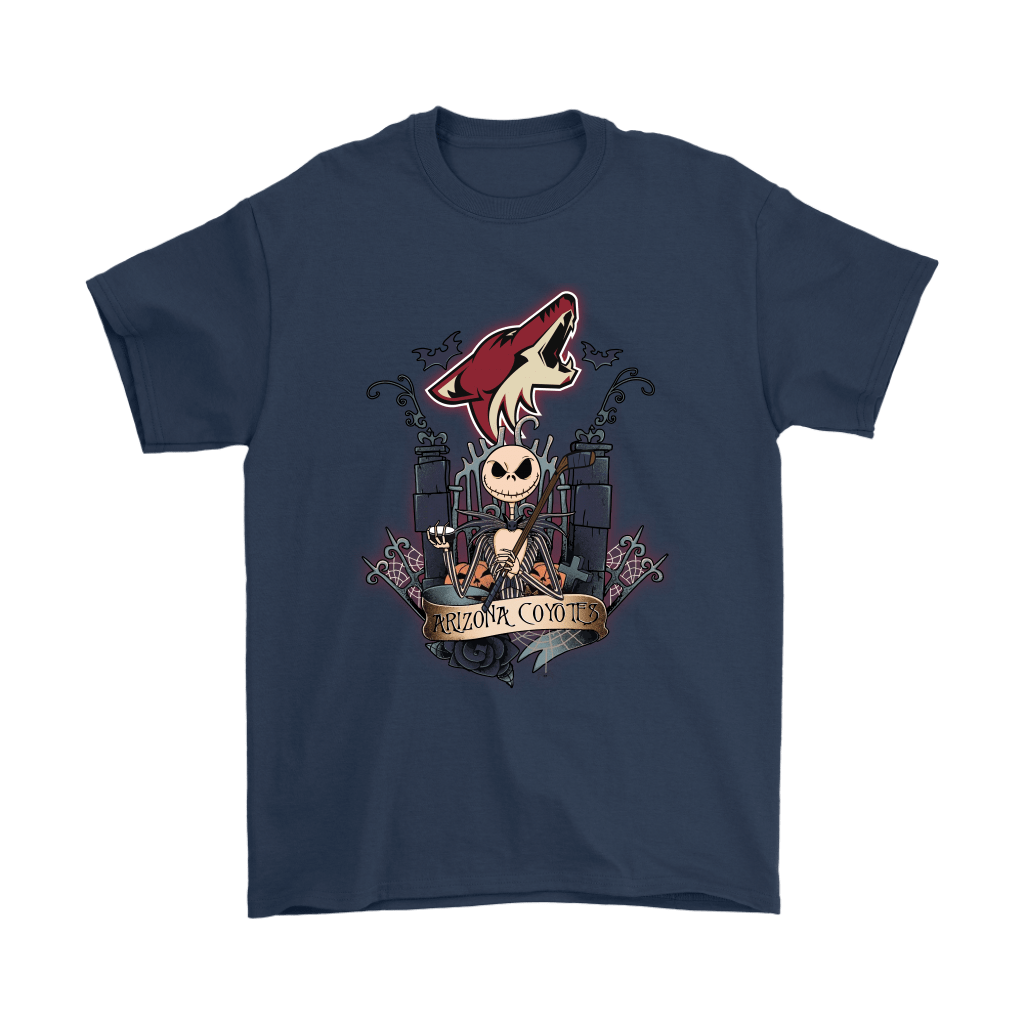 Arizona Coyotes Jack Skellington This Is Halloween NHL Shirts 3