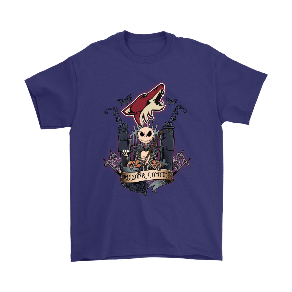 Arizona Coyotes Jack Skellington This Is Halloween NHL Shirts 4