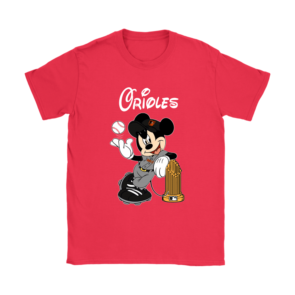 Baltimore Orioles Mickey Taking The Trophy MLB 2018 Shirts 12
