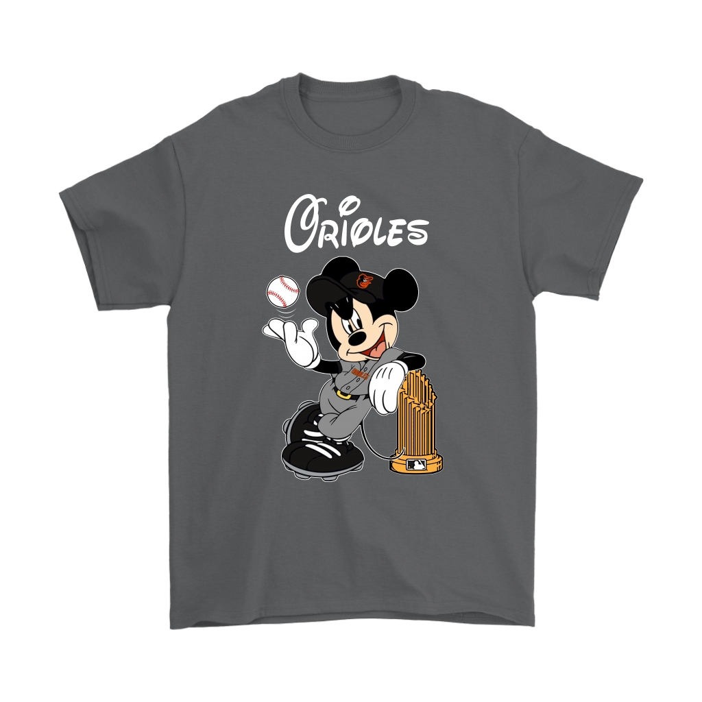 Baltimore Orioles Mickey Taking The Trophy MLB 2018 Shirts 2