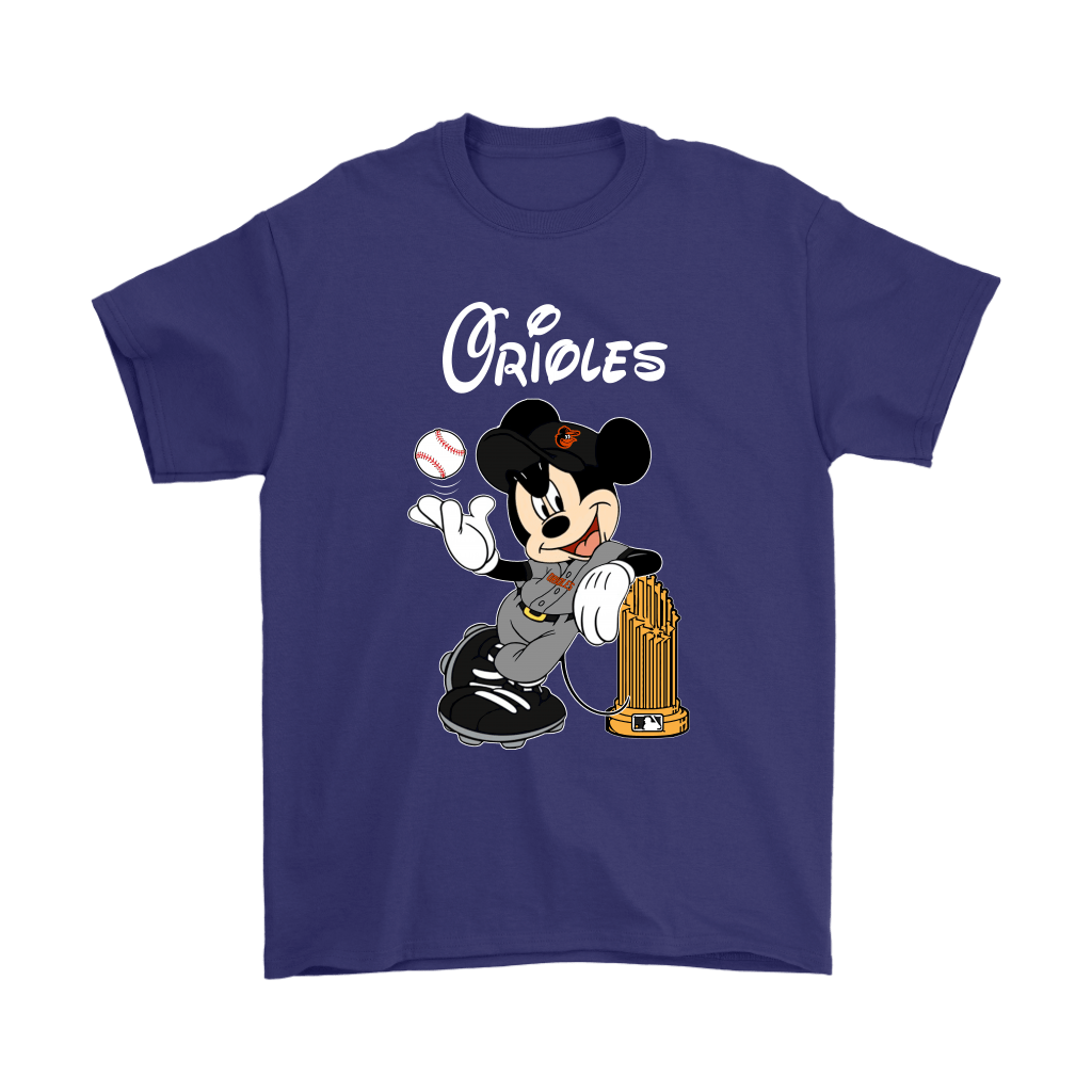 Baltimore Orioles Mickey Taking The Trophy MLB 2018 Shirts 4