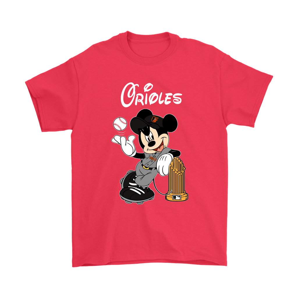 Baltimore Orioles Mickey Taking The Trophy MLB 2018 Shirts 5