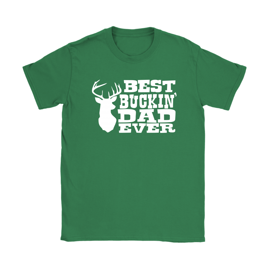 Best Buckin' Dad Ever Hunting Father's Day Shirts 14