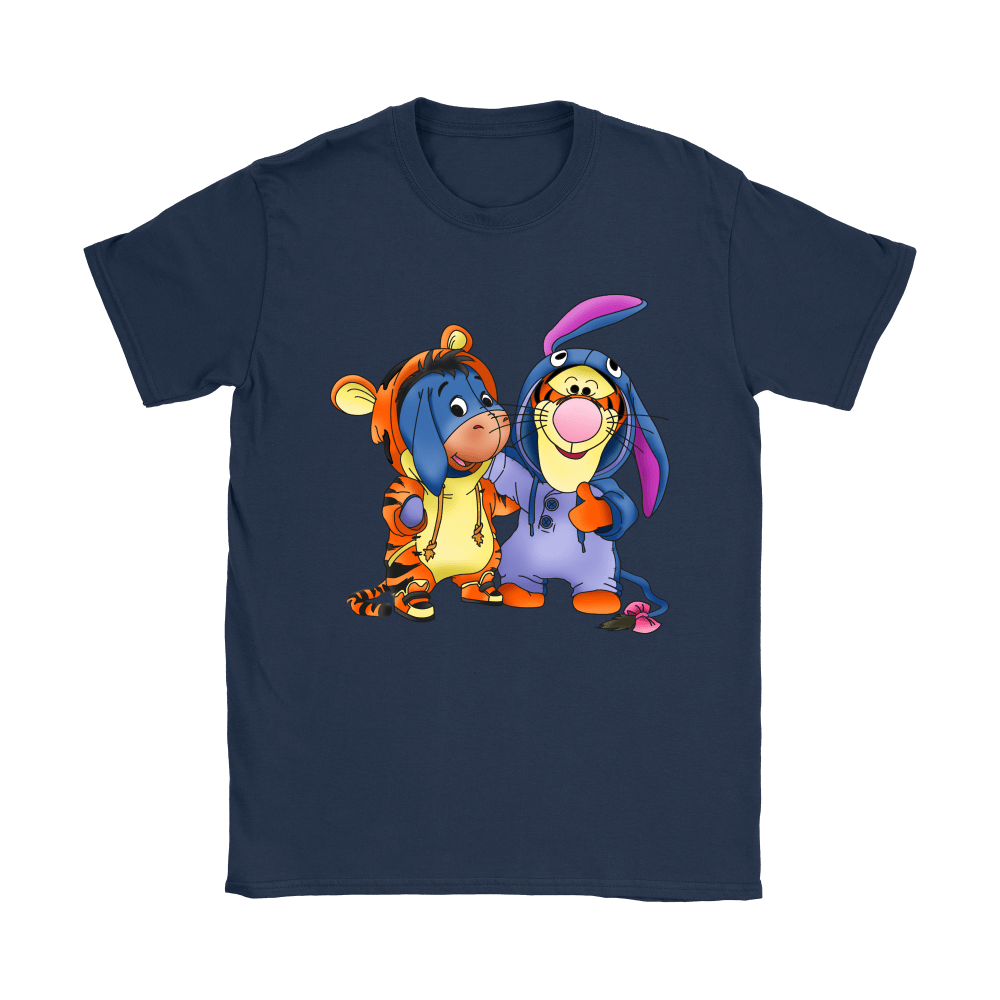 Best Friends Trade Costumes Tigger And Eeyore Shirts 10