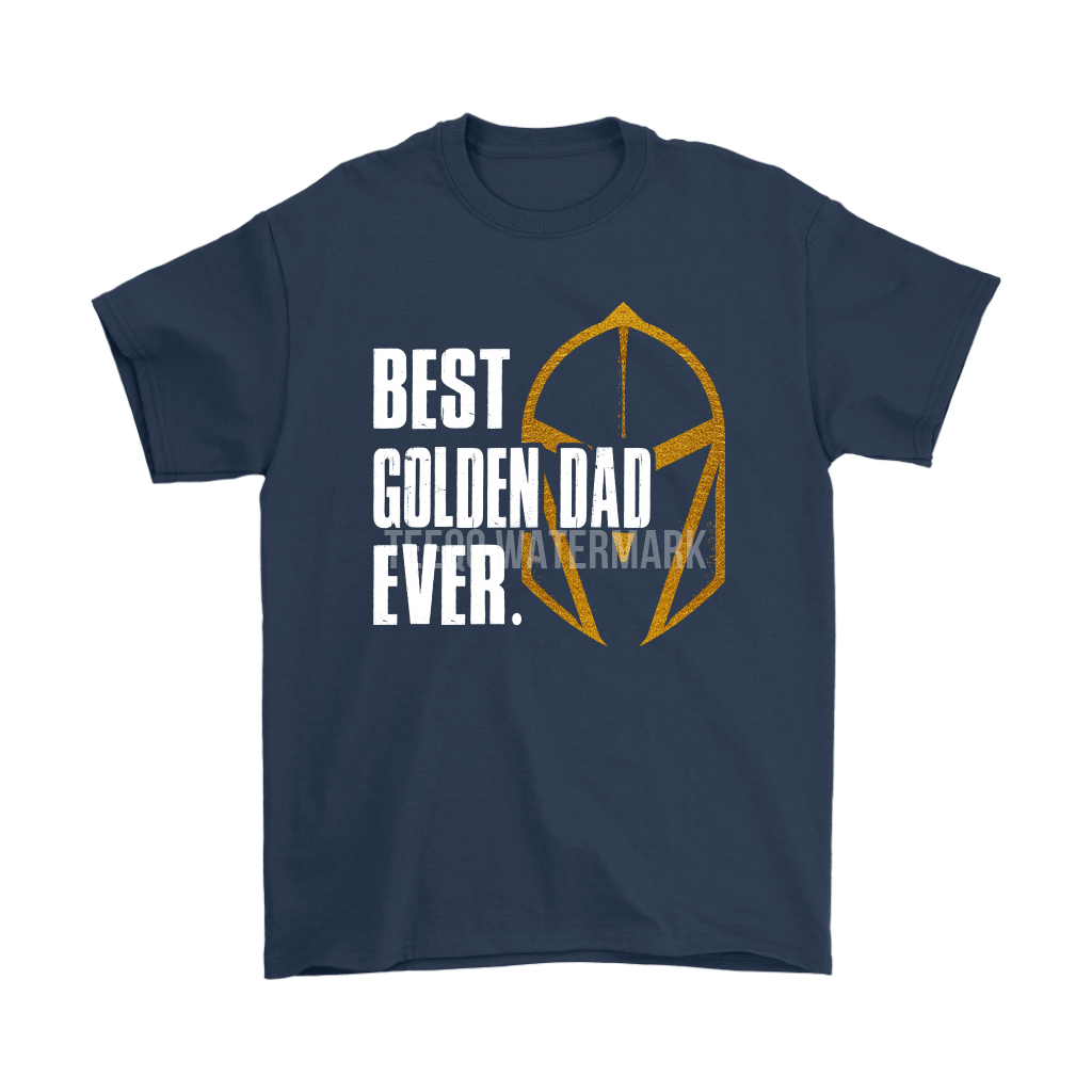 Best Golden Dad Ever Vegas Golden Knights Father's Day Shirts 3